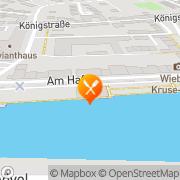 Karte Zur alten Mühle Glückstadt, Deutschland