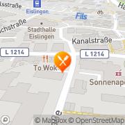 Karte Restaurant Zum Wahnsinn Eislingen, Deutschland