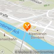 Karte Panoramarestaurant Karren Dornbirn, Österreich