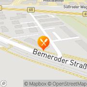 Karte Martinez Gaststätten-Betriebs- GmbH Hannover, Deutschland