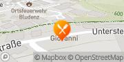 Karte Giovanni Ristorante Bludenz, Österreich