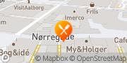 Kort Hollywood Pizza Haderslev, Danmark