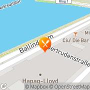 Karte Galatea bei Bruni Hamburg, Deutschland