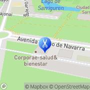 Map Corporae Centro de Estética y Masaje Sarriguren, Spain