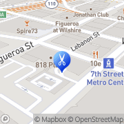Map C&J Beauty Center Los Angeles, United States