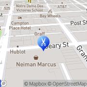 Map Ondines Hair Studio San Francisco, United States
