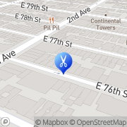 Map The Mens Lounge Barbershop & Spa Manhattan, United States