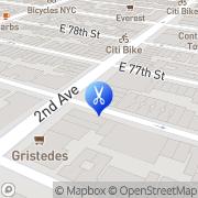 Map Le Reve Hair Salon New York, United States