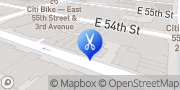 Map Art Style Barbershop New York, United States