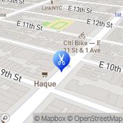 Map Rafael's Barbershop New York, United States