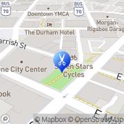 Map Barber In Demand Durham, United States