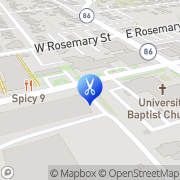 Map Chapel Hill Barber Shop Chapel Hill, United States