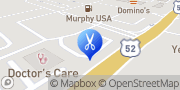 Map Great Clips Moncks Corner, United States