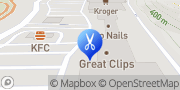 Map Great Clips Clarksburg, United States