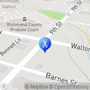 Map Walker Marchel Barber Shop Augusta, United States