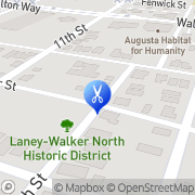 Map Ericas Beauty Shop Augusta, United States