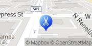 Map Tampa Nails Tampa, United States