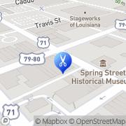 Map Marshall St Barber/Style Shop Shreveport, United States