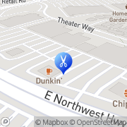 Map Great Clips Dallas, United States