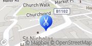 Map Oasis Beauty Consultants Ltd Bury St. Edmunds, United Kingdom