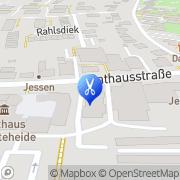 Karte Harmonie Fußpflege Bargteheide, Deutschland