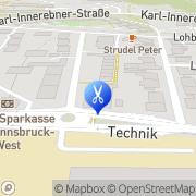 Karte Ihr dm friseurstudio Innsbruck, Österreich