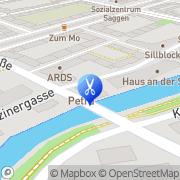 Karte Friseursalon Petra Innsbruck, Österreich