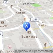 Karte Hairline - Friseursalon Jenbach, Österreich