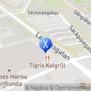 Karta Salong Figaro Rud, Sverige