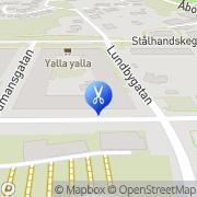 Karta Klipphörnet Göteborg, Sverige