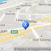 Karta Mikaels Hår och Make Göteborg, Sverige
