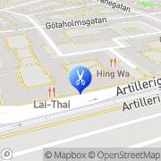 Karta Salong Kina Göteborg, Sverige
