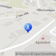 Karta Ing-Mari Nilsson Damfrisering Staregården, Sverige