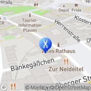 Karte Mod´s Hair Stefanie Rothe Plauen Plauen, Deutschland