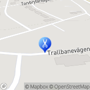 Karta Klipploftet Landvetter, Sverige
