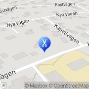Karta Poul Olsen Frisersalong Vänersborg, Sverige