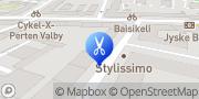 Kort Super Cut Valby, Danmark