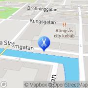 Karta Salong Lillån Alingsås, Sverige