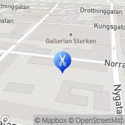 Karta Salong Petite Alingsås, Sverige