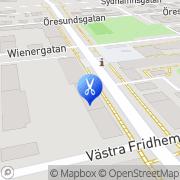 Karta Kristinas Salong o. Solarium Helsingborg, Sverige