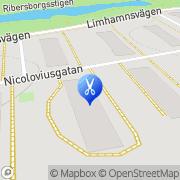 Karta Salong Flärd Malmö, Sverige