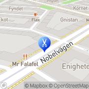 Karta Hår & Nagelstudion Malmö, Sverige
