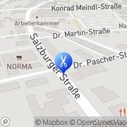 Karte Bauder Sylvia Braunau am Inn, Österreich