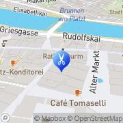 Karte HENO Coiffeur GmbH Salzburg, Österreich