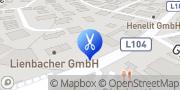 Karte Hairdesign Ludwig Kaufmann Salzburg, Österreich