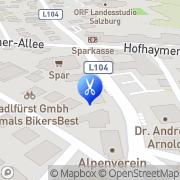 Karte Rest Martina Frisiersalon Salzburg, Österreich