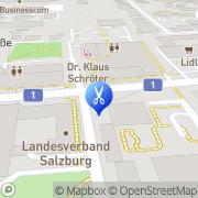 Karte FRISÖR KLIER Salzburg, Österreich