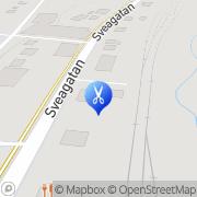 Karta Salong Frontal Grums, Sverige