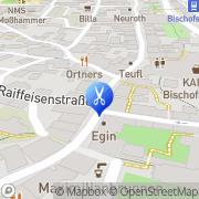 Karte Chaos hairconcept Bischofshofen, Österreich