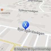 Karta Salong Anita Källby, Sverige